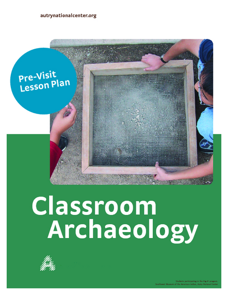 Classroom Archaeology Lesson Plan