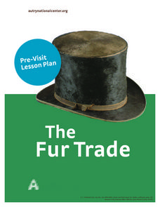 Fur Trading Lesson Plan