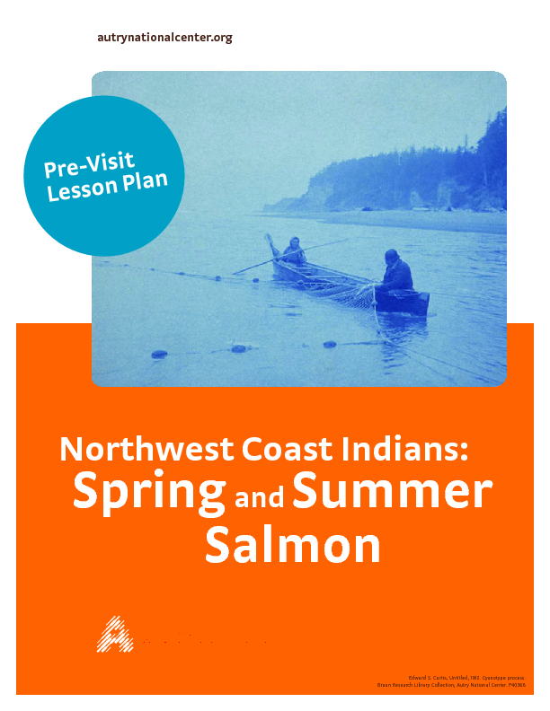 Northwest Coast Indians: Spring and Summer Salmon Lesson Plan