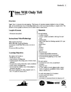 Time Will Only Tell Lesson Plan