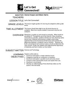 Let's Get Connected! Lesson Plan