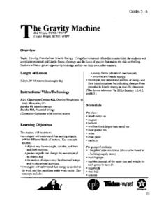 The Gravity Machine Lesson Plan