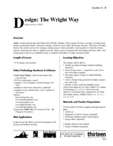 Design: The Wright Way Lesson Plan