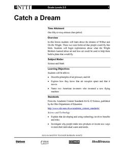 Catch a Dream Lesson Plan