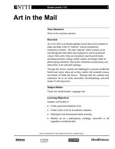 Art in the Mail Lesson Plan