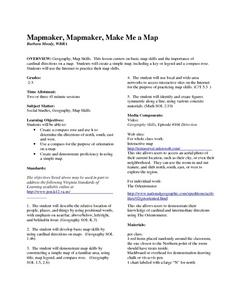 Mapmaker, Mapmaker, Make Me a Map Lesson Plan