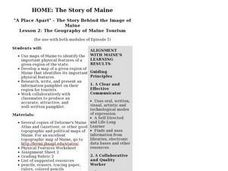 The Geography of Maine Tourism Lesson Plan