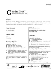 Get the Drift? Lesson Plan