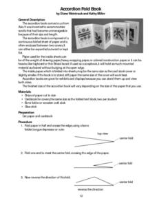 Accordion Fold Book Lesson Plan