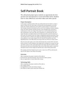 Self-Portrait Book Lesson Plan