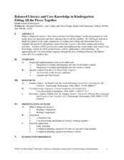 Fitting All the Pieces Together Lesson Plan
