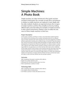 Simple Machines: A Photo Book Lesson Plan