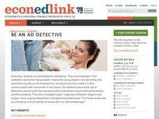 Be an Ad Detective Lesson Plan