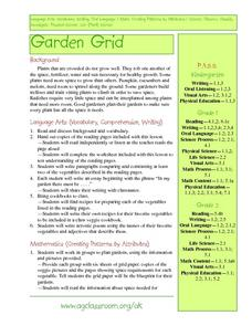 Garden Grid Lesson Plan