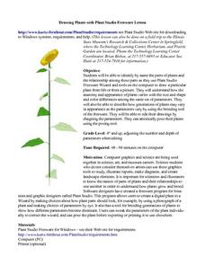 Drawing Plants with Plant Studio Freeware Lesson Plan