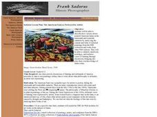 Sadorus Lesson Plan: The American Farm as Portrayed by Artists Lesson Plan