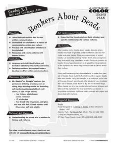 Bonkers About Beads Lesson Plan