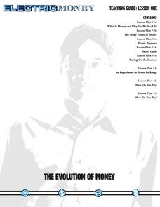 The Evolution of Money Lesson Plan