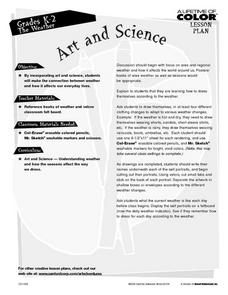 Art and Science: Weather Lesson Plan