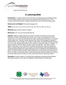 A Listening Walk Lesson Plan