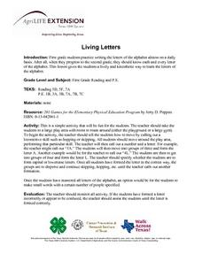 Living Letters Lesson Plan