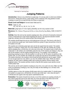 Jumping Patterns Lesson Plan
