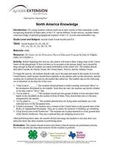 North America Knowledge Lesson Plan