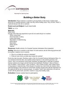 Building a Better Body Lesson Plan