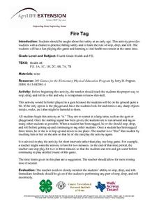 Fire Tag Lesson Plan