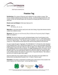 Fraction Tag Lesson Plan