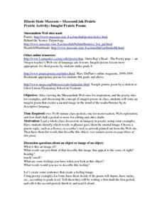 Prairie Activity: Imagist Prairie Poems Lesson Plan