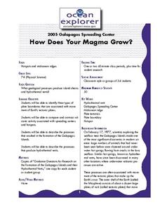 How Does Your Magma Grow? Lesson Plan