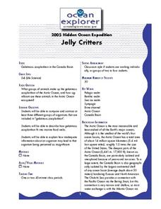 Jelly Critters Lesson Plan