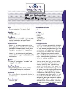Massif Mystery Lesson Plan