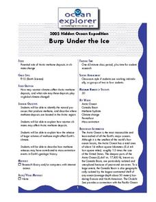 Burp Under the Ice Lesson Plan