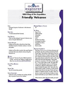Friendly Volcanoes Lesson Plan