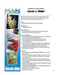 Galvanic vs. Titanic? Lesson Plan