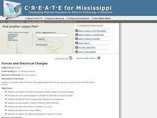 Forces and Electrical Charges Lesson Plan