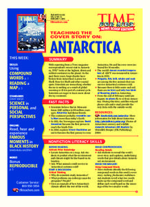 Antarctica Lesson Plan
