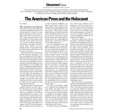 The American Press and the Lesson Plan