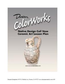 Native Design Coil Vase: Ceramics Lesson Lesson Plan