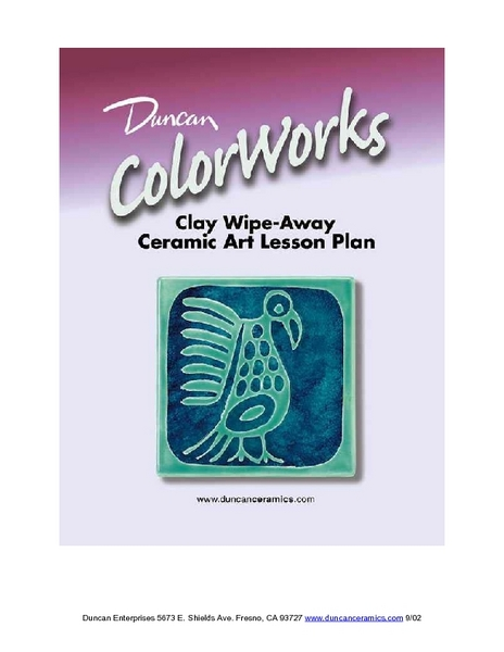 Clay Wipe Away: Ceramics Lesson Plan