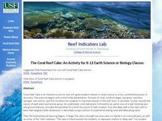 The Coral Reef Cake: An Activity for K-12 Earth Science or Biology Classes Lesson Plan