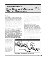 New England's Ground Water Resources Worksheet
