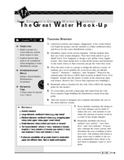 The Great Water Hook-Up Lesson Plan
