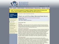 Wisconsin Forest History Lesson Plan
