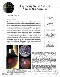 Exploring Solar Systems Across the Universe Lesson Plan