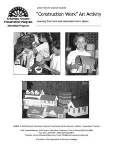 """Construction Work"" Art Activity Lesson Plan"
