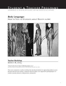 Body Language: How To Talk To Students About Nudity in Art Lesson Plan