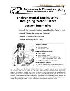 Environmental Engineering: Designing Water Filters Lesson Plan